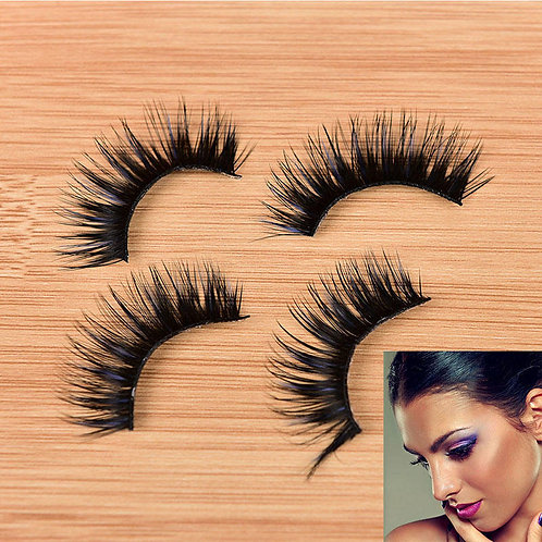 Thick 3 D reusable eyelashes,