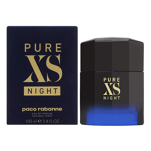PACO RABANNE Pure Xs Eau de Toilette Spray, 3.4 Ounce