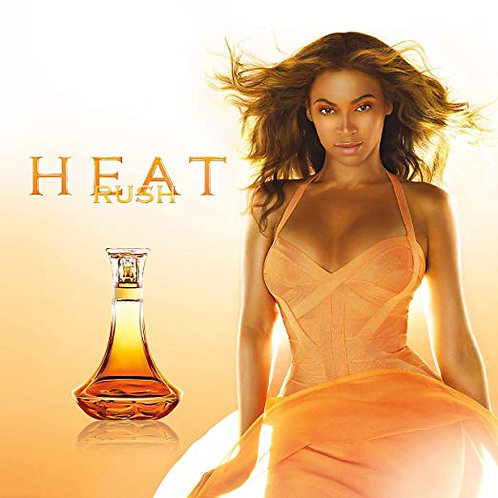 Beyonce Heat Rush for Women Eau De Toilette Spray, 3.4 Ounce  by Beyoncé