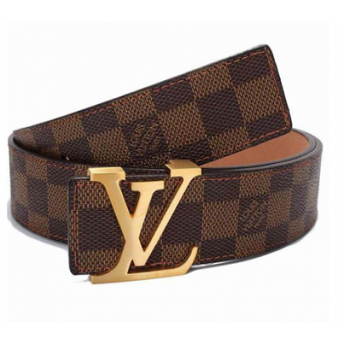 New Fashion Leather Metal Buckle Lv Belt Unisex Belt for Men/Women Casual Busine