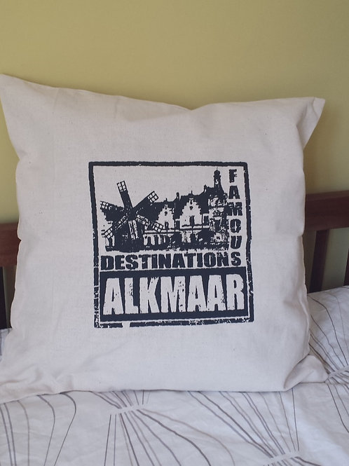 Dacron Cushion - Famous Destinations Alkmaar