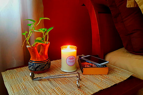 Soy Candle 25hrs African Blossom