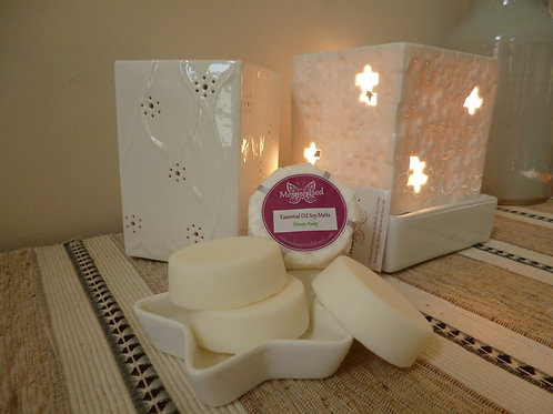 Essential Oil Soy Melts Stress Away