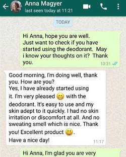 Anna Testimonial