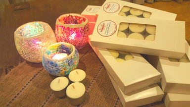 LIMITED EDITION SOY TEALIGHTS