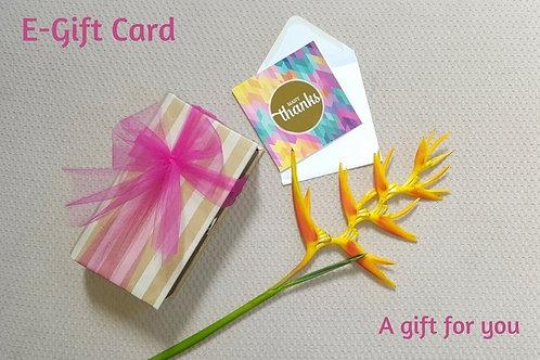 E-Gift Card SGD 30.00