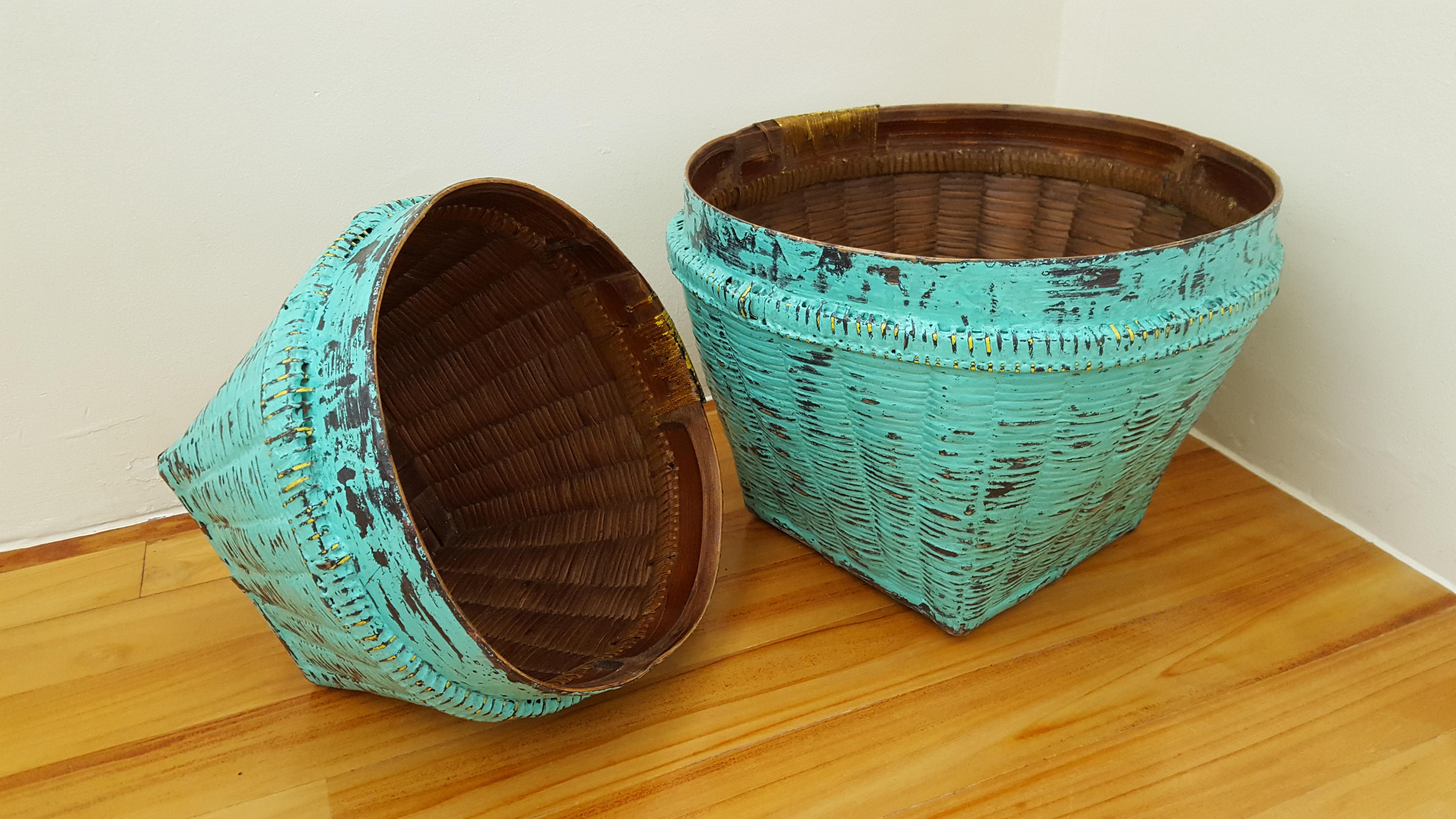 Mesmerised Bamboo Turquoise (2)