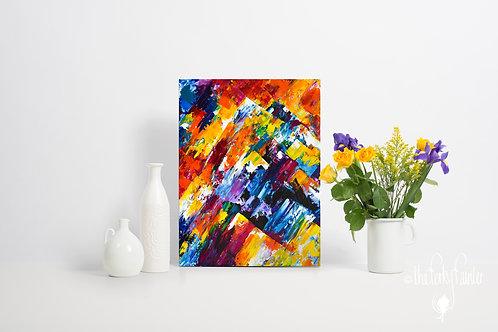 'Climb' Original Painting