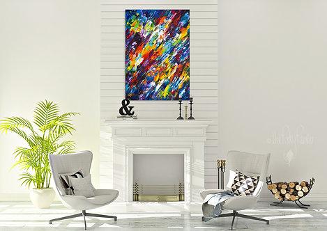 'Jubilant' Original Painting