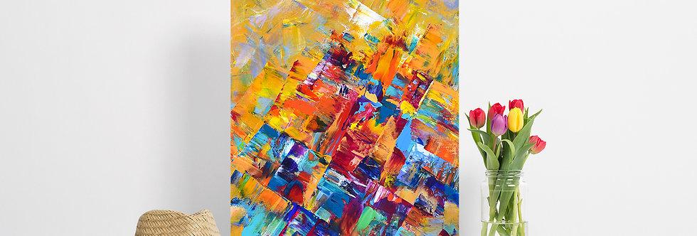 'Golden Summit' Original Painting