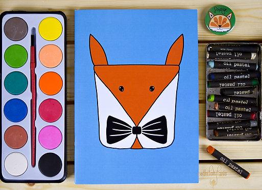 Fox Character Notebook