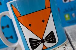 www.thePerkyPainter.com Foxy P Mug