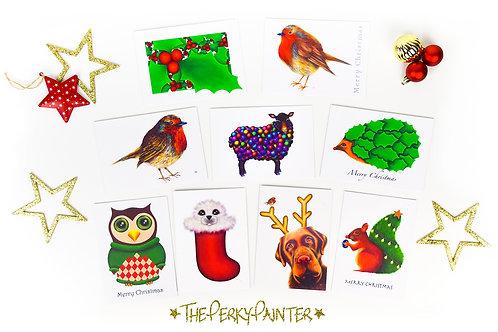 Christmas Card 6 Packs