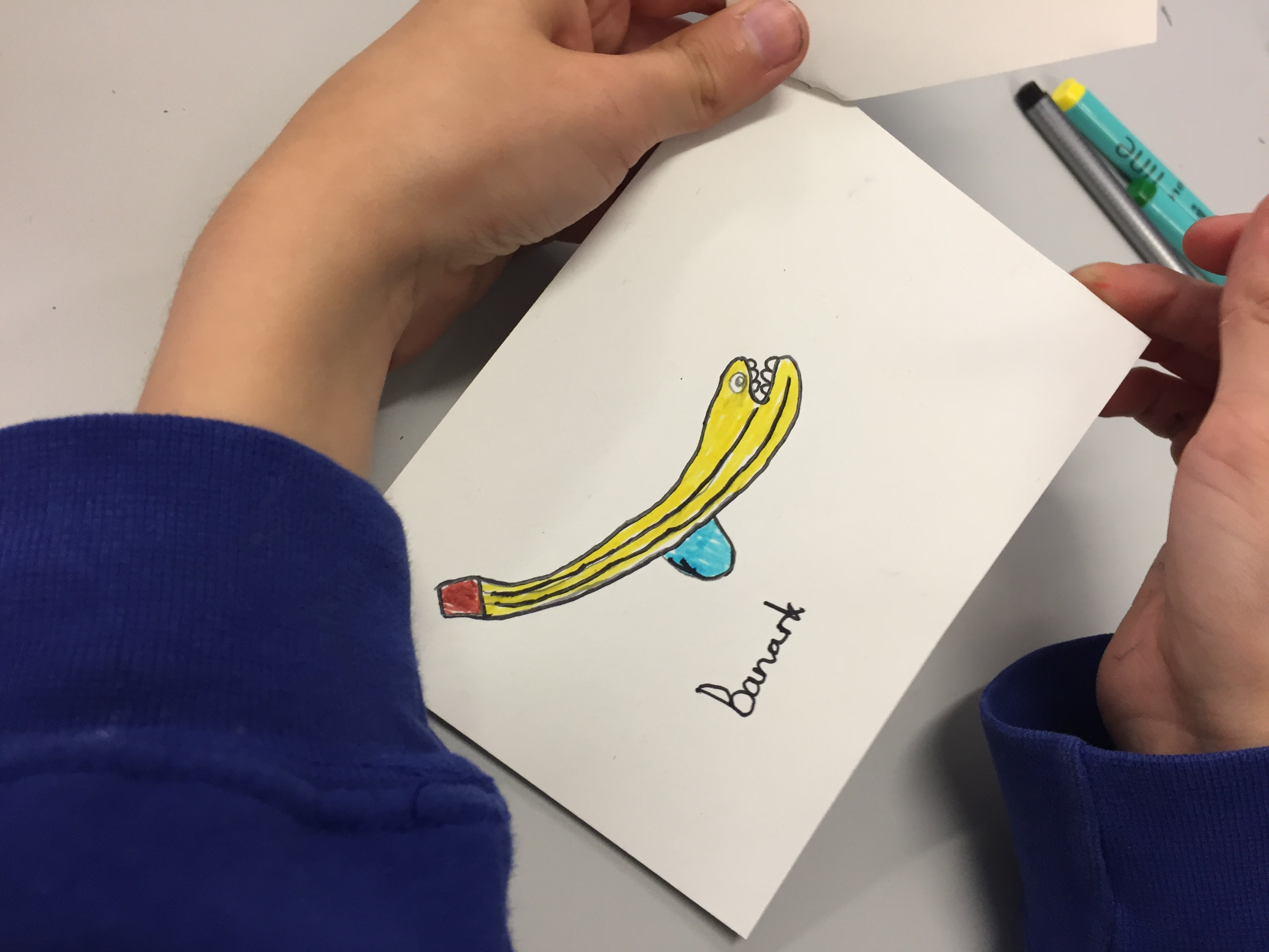 Fruinimal Art Workshop for Kids The Perky Painter at The Tetley After School Club Art Smart Supersta