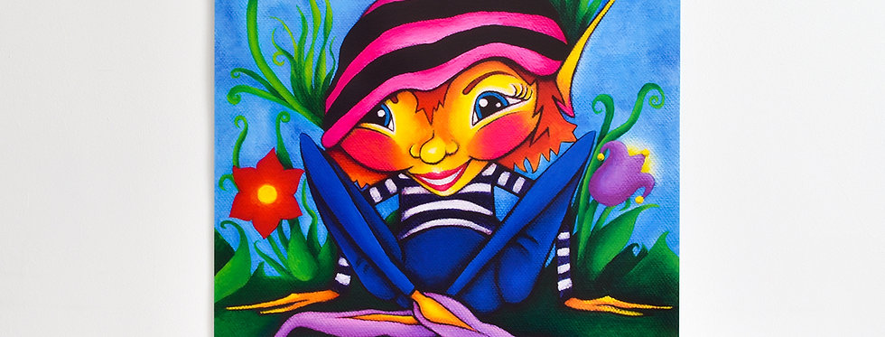 Perky Pixie Poster