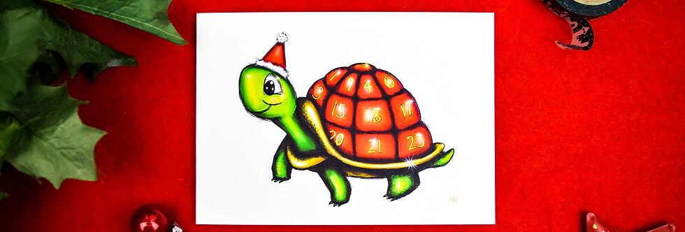 Adventurtle Christmas Card
