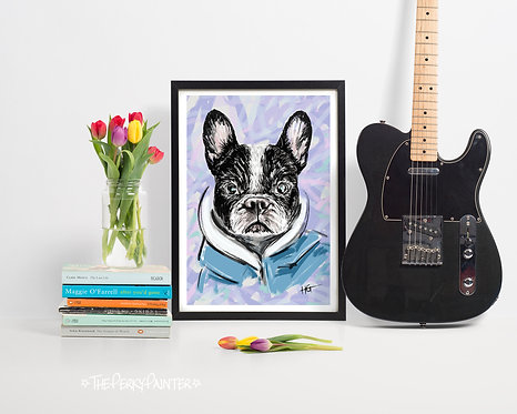 Cool Dude Giclee Print (A4)