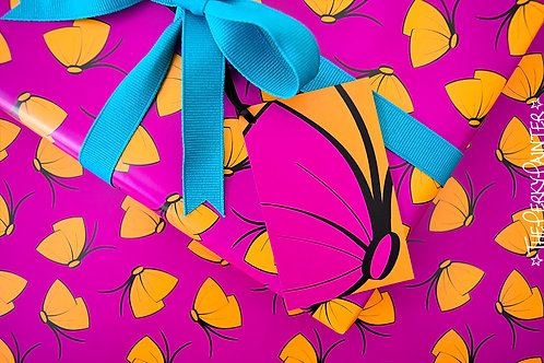 Butterfly-Bow Summer Gift Wrap Pack