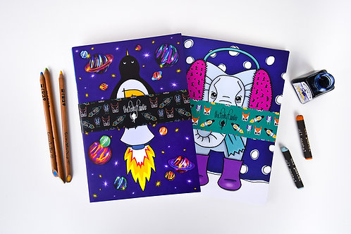 Character Collection Notebook Set