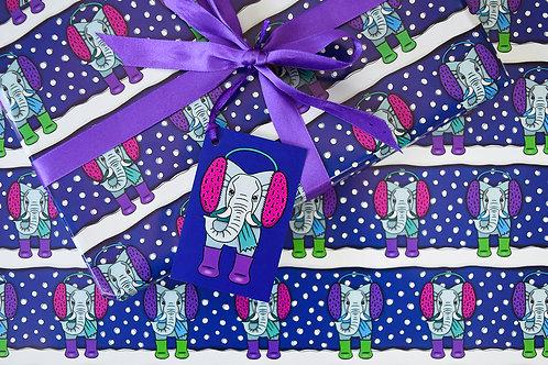 Elephant Gift Wrap Pack