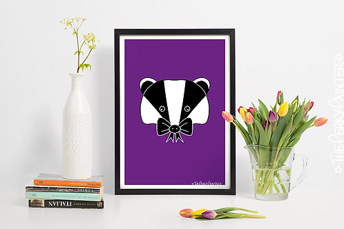 BowBadger Art Print