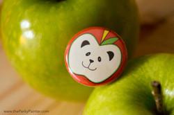 www.thePerkyPainter.com Fruinimal Pandappple badge