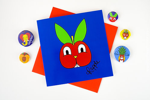 Rapple Blank Greeting Card