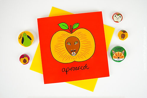 Aproarcot Blank Greeting Card