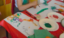 Kids Art Workshops with The Perky Painter, Childrens Painting Classes Leeds Yorkshire, Professional
