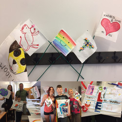 Flag Making Family Art Workshop at The T