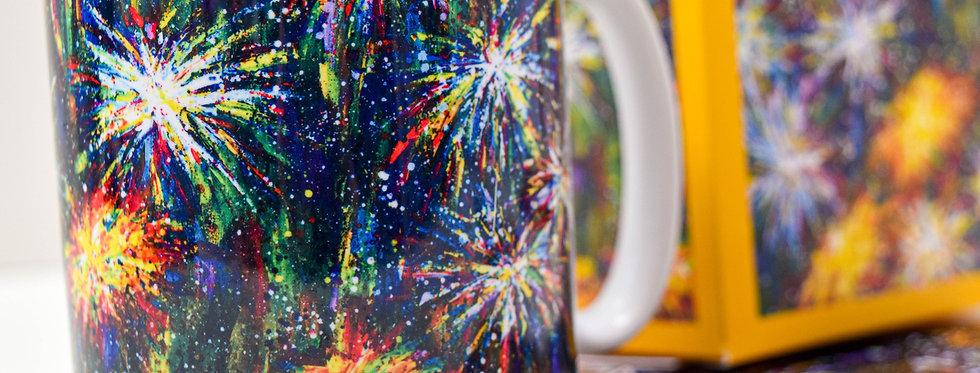 Dandelion Painting Mug