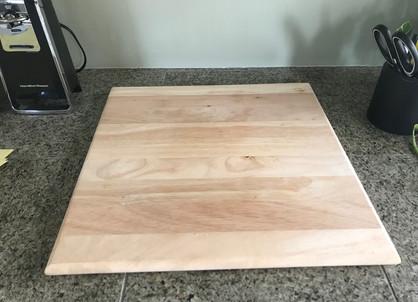 #25 Wooden Cutting Board