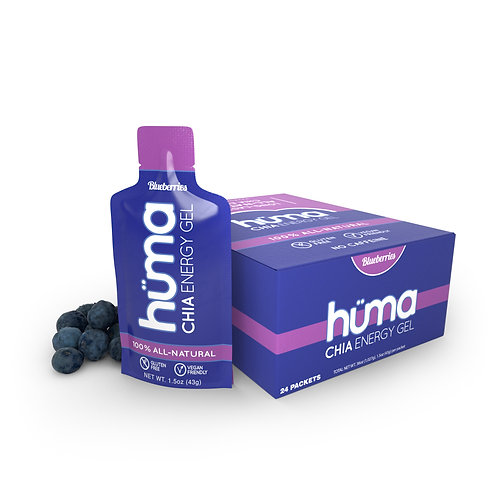 24 box Huma Gel Blueberries