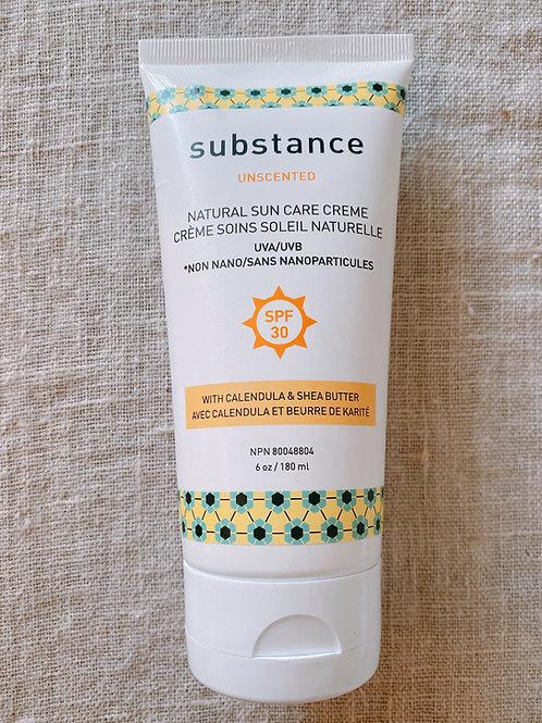 Unscented Natural Sun Care Creme (Matter Company)