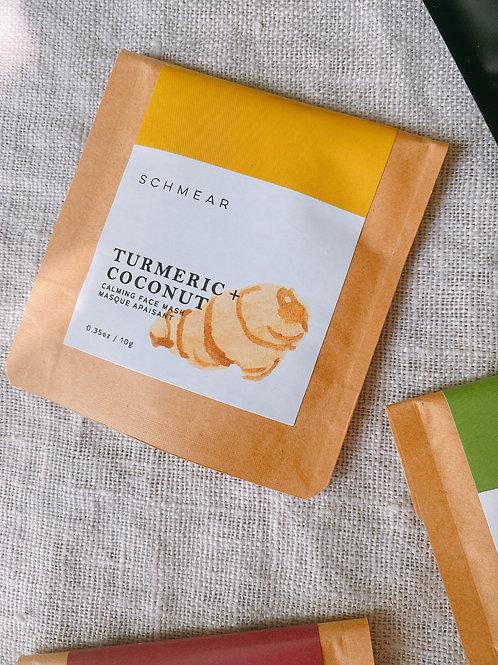 Turmeric + Coconut Calming Face Mask