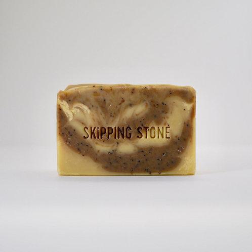 Coffee Shop : Hand & Body Scrub Soap / Skipping Stone