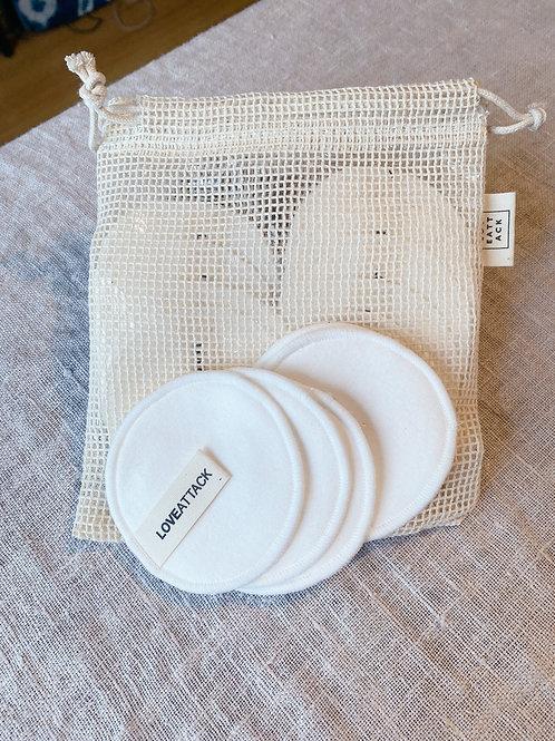 Reusable Organic Cotton Facial Rounds