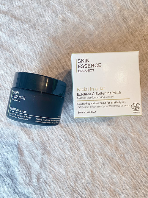 Facial in A Jar (Exfoliant/softening Mask) -All skin types