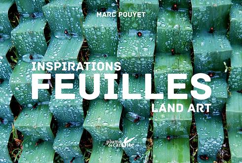Feuilles, inspiration land art