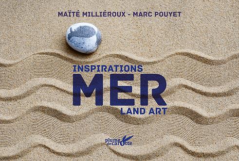 Mer, inspirations land-art