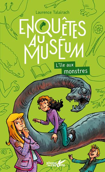 Enquête au Muséum : L'île aux monstres