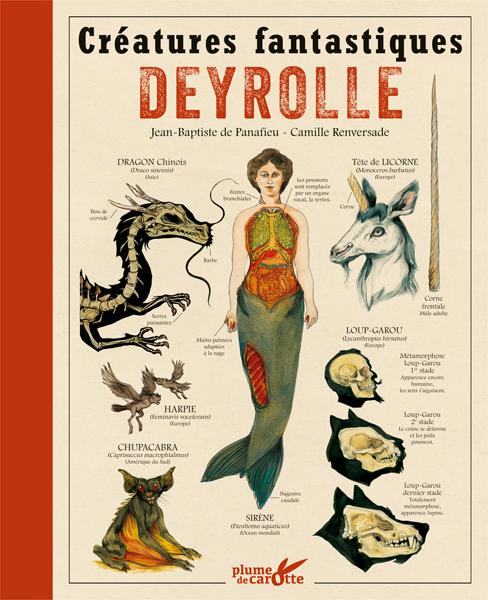Créatures fantastiques Deyrolle : nouvelle édition