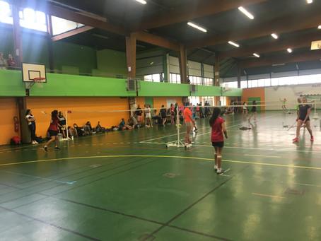 Championnats Nationaux de Badminton à Beauvais.