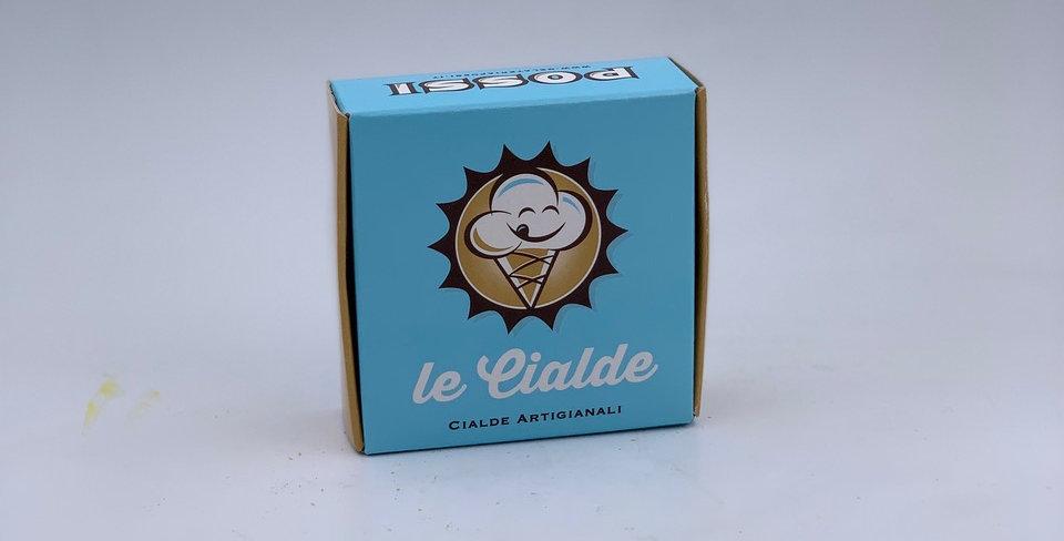 confezione  10 cialdine da gelato