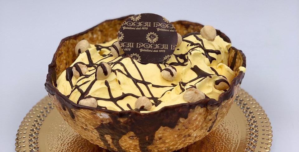 croccante ripieno di crema al mascarpone