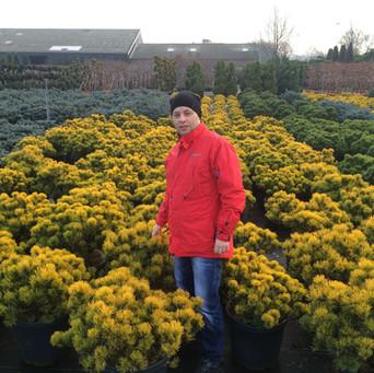 Посещение питомников в Голландии и в Гер