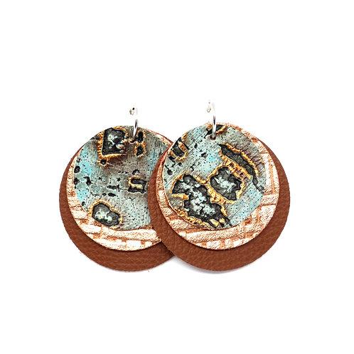 Interchangeable Turquoise Wildwood - Sloane Collection - CHOOSE YOUR SHAPE