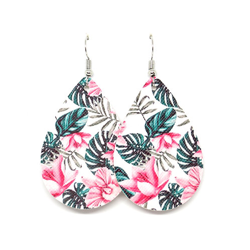 Classic Teardrop in Tropical Floral