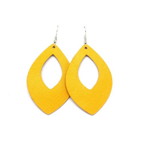 Grace Cutout in Mustard Yellow