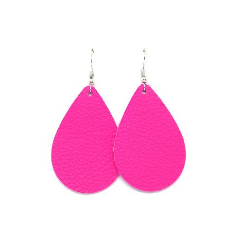 Neon Pink - CHOOSE TEARDROP OR PETAL